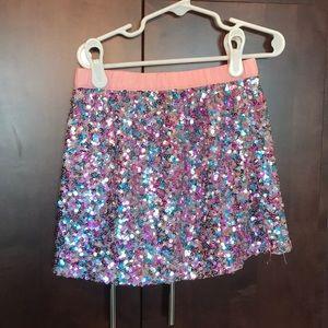 Gymboree Bottoms - Gymboree Sequin Skirt (5-6)